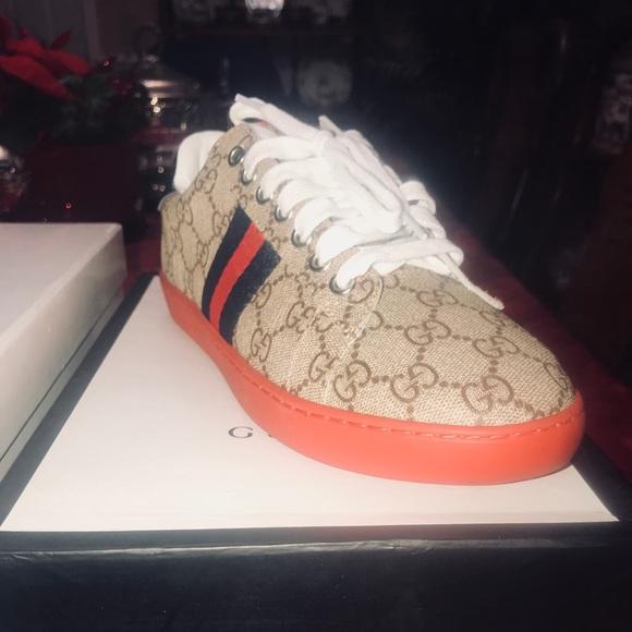 df13d91f5 Gucci Shoes | Ace Gg Supreme Sneaker | Poshmark